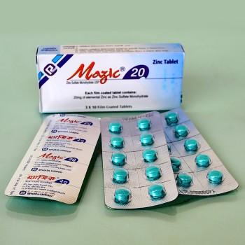 Mazic 20mg Tablet 10's Strip