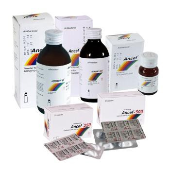 Ancef 125mg/5ml PFS 100ml Bottle 1's Pack